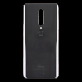 Vitre arrière OnePlus 7 Pro Gris - Avec logo + Adhesif
