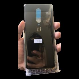 Vitre arrière OnePlus 7T Pro Noir - Avec logo + Adhesif