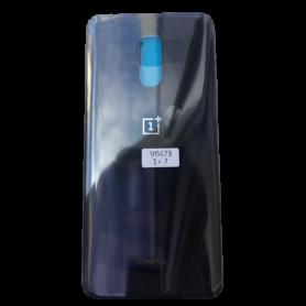 Vitre arrière OnePlus 7 Gris - Avec logo + Adhesif