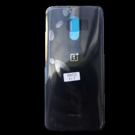 Vitre arrière OnePlus 7 Noir - Avec logo + Adhesif