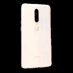 Vitre arrière OnePlus 7 Pro Rose - Avec logo + Adhesif