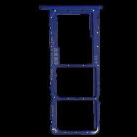 Tiroir SIM HUAWEI Y7 Prime Bleu