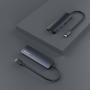 HUB Type-C 4 en 1 DEVIA HDMI + USB3.0 * 2 + PD