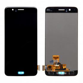 Ecran OnePlus 5 Noir LCD + Vitre Tactile