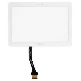 Vitre tactile Samsung Tab 10.1 (P7500/P7510) / Tab 2 10.1 (P5100/P5110) / Tab 3 10.1 (P5200/P5210/P5220) Blanc