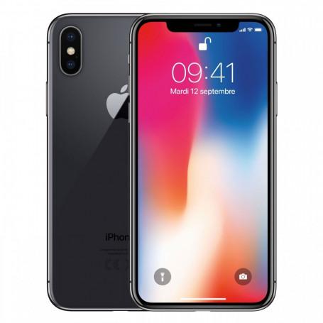 iPhone X 64 Go Noir - Débloqué