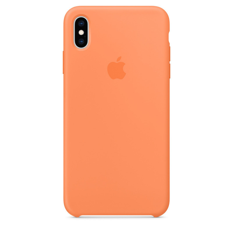 Coque en silicone pour iPhone XS MAX - Retail Box - Origine