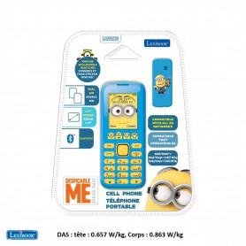 Téléphone Portable Lexibook Minions Moi, Moche et Méchant débloqué double SIM