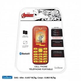 Téléphone Portable Lexibook Avengers Iron Man débloqué double SIM