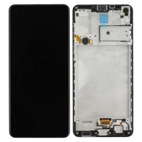 Ecran Samsung Galaxy A21S 2020 (A217F) Noir (Service Pack)