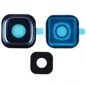 Vitre caméra arrière Samsung Galaxy Note 5 (N920F) Blue Contour + Vitre cache Noir