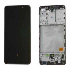 Ecran Samsung Galaxy A31 (A315) Noir (Service Pack)