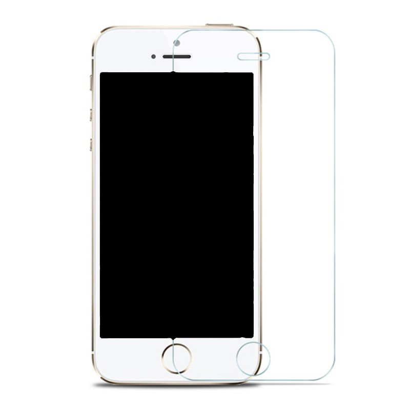 Film de Verre Trempé HD iPhone 5/5S/5C/6/6S/7/ 8/Plus/X/XS MAX/XR/12 - en vrac