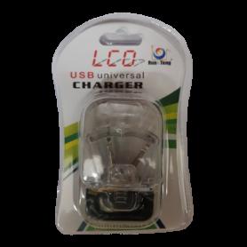 Chargeur universel avec écran LCD - USB 5.5V - Batterie 4.3V