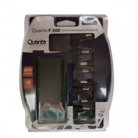 Chargeur universel Quanta F-500 90 W pour notebook 10 pointes