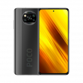 POCO X3 NFC 6 GB + 64 GB, Shadow Gray - Neuf