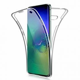 Coque Protection pour Samsung Galaxy S Transparente Avant et Arrière 360° Pleine Couverture Anti-chute