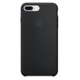 Coque en silicone iPhone 7 Plus / 8 Plus Noir - Origine