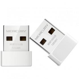 Adaptateur Clé USB WiFi Compatible Windows 10/8/7/Vista/XP (Aucun Disque CD requis)