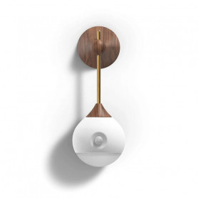 Lampe de nuit amovible Induction infrarouge - Wood