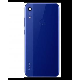 Vitre arrière HUAWEI Honor 8A Bleu Avec Adhesif
