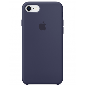 Coque en silicone iPhone 7 / 8 Bleu Nuit - Origine