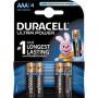 Piles Alcalines AAA Duracell Ultra Power x 4pcs