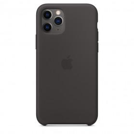 Coque en silicone pour iPhone 11 Pro - Noir - Retail Box - Origine