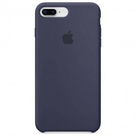Coque en silicone pour iPhone 7 Plus / 8 Plus - Midnight Blue  - Retail Box - Origine