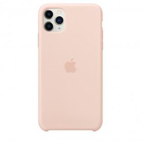 Coque en silicone pour iPhone 11 Pro Max - Rose des sables - Retail Box - Origine