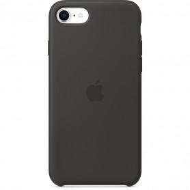 Coque en silicone pour iPhone 7 / 8 SE2020 - Noir - Retail Box - Origine
