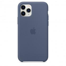 Coque en silicone pour iPhone 11 Pro -  Bleu d'Alaska - Retail Box - Origine