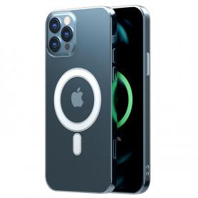 Coque transparente avec MagSafe pour iPhone 12 / Pro / mini / Pro Max