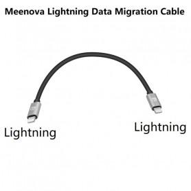 Câble Lightning / Ligthning de Migration de données Meenova