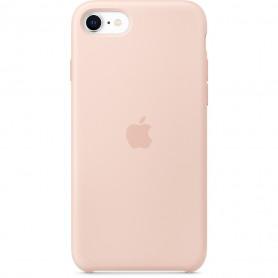Coque en silicone pour iPhone 7 / 8 SE2020 - Rose des sables - Retail Box - Origine