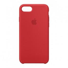 Coque en silicone pour iPhone 7 / 8 SE2020 - Rouge Nouveau - Retail Box - Origine