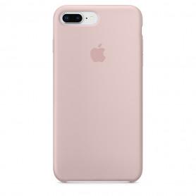 Coque en silicone pour iPhone 7 Plus / 8 Plus - Rose des sables - Retail Box - Origine
