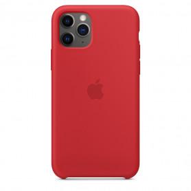 Coque en silicone pour iPhone 11 Pro - Rouge - Retail Box - Origine
