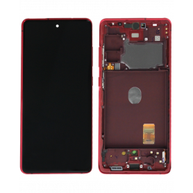 Écran Samsung Galaxy S20 FE 2020 (G780) Rouge (Service Pack)