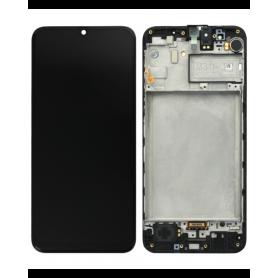 Écran Samsung Galaxy M31 2020 (M315) Noir + Châssis (Service Pack)