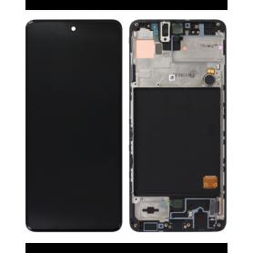 Écran Samsung Galaxy M51 2020 (M515) Noir (Service Pack)