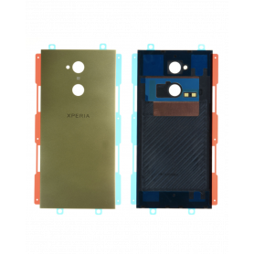 Vitre arrière Sony Xperia XA2 Ultra Or Avec Adhesif