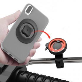 Support Téléphone Rétroviseur de Moto L062