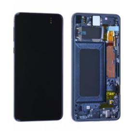 Écran Samsung Galaxy S10e (G970F) Noir Prisme + Châssis (Service Pack)