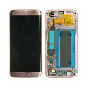 Ecran Samsung Galaxy S7 Edge (G935F) Rose (Service Pack)