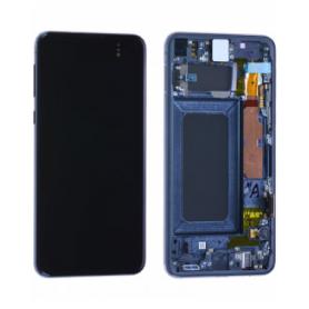 Ecran Samsung Galaxy S10 (G973F) Noir Prisme + Châssis (Service Pack)