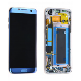 Ecran Samsung Galaxy S7 Edge (G935F) Bleu (Service Pack)