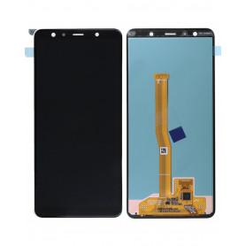 Écran Samsung Galaxy A7 2018 (A750F) Noir (Service Pack)
