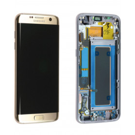 Ecran Samsung Galaxy S7 Edge (G935F) Or Platine (Service Pack)