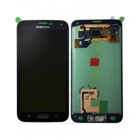 Ecran Samsung Galaxy S5 (G900F) Noir (Compatible) Avec Adhésif